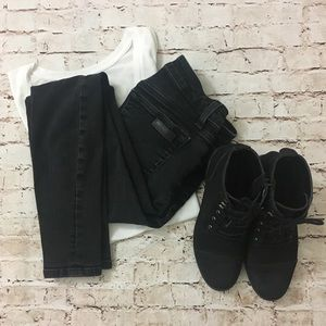 Joe's Jeans   Black skinny ankle jeans